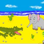 Почему у слона длинный нос Собинков Владислав 5 кл